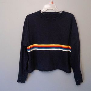 Brandy Melville rainbow shirt
